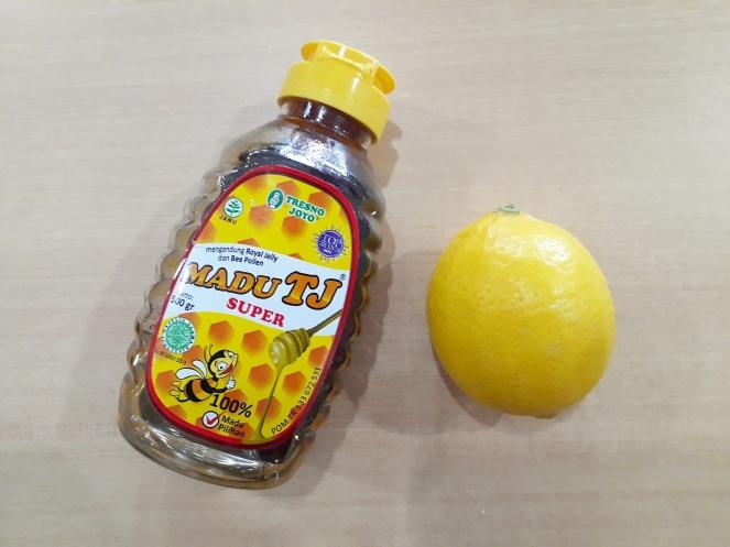 honey-lemon shot